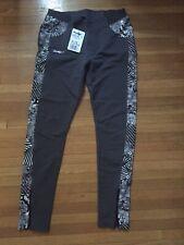 Desigual Leggings Pants Gray Size M/L