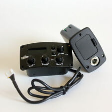 B - BAND T7 Acoustic Guitar Pickup EQ 22R piezo tuner preamp