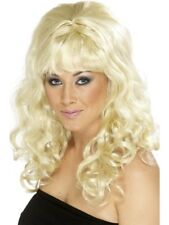 Beehive Beauty Wig Blonde with Curls