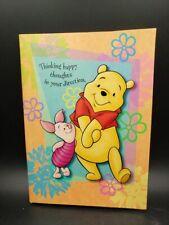 "Vintage Hallmark Winnie the Pooh & Piglet Stationery Portfolio ""Happy Thoughts"""