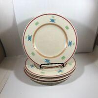 "Set of 4 Retired PFALTZGRAFF USA 8-1/4"" SARATOGA Bread Salad Plates"