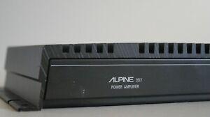 /////Alpine 3517 90s Old School Bridgeable 2 Channel Power Amplifier Amp