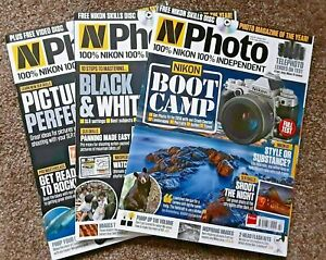 Nikon NPhoto Magazines Issues. 18 29 31. Choose Your Own. DVDs included.