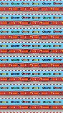 Race Cars Border Stripe Car Northcott Quilt Fabric by the 1/2 yard