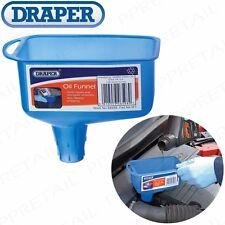 Mechanics OIL FUNNEL Square Vehicle/Van/Car/Garage Petrol/Gas/Wiper Fluid/Liquid