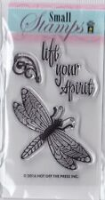ZEN DRAGONFLY - Hot Off The Press (HOTP) - Mini Clear Stamp Set