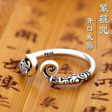 Hot Women Unisex Vintage Inhibition Tibetan Silver Clouds Open Adjustable Ring