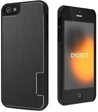 Étuis, housses et coques noirs métalliques iPhone 5s pour téléphone mobile et assistant personnel (PDA)