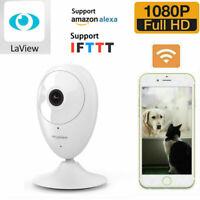 Full HD Security IP Camera 2.4G WIFI 1080P Smart APP 2-Way Audio Night Vision