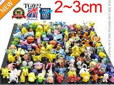144 Styles Pokemon MINI FIGURINES Beaucoup de Pokemon figurines
