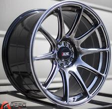 One 18X8.75 XXR 527 5x100/114.3 +35 Chromium Black Wheel