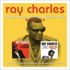 Ray Charles MODERN SOUNDS IN COUNTRY & WESTERN MUSIC VOL 1 & 2 New Sealed 2 CD