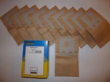 10 Sacchetto per aspirapolvere re-N. 75345.00 per Elektrolux e1 e 1 Excelsior
