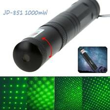 Green Power Green Laser Pointer Star Cap Gazing Pen 2 in 1 Beam Light Lazer HOT