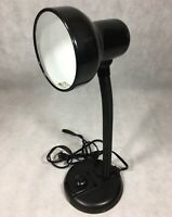 Black Gooseneck Adjustable Desk Table Lamp