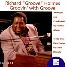 "Groovin' with Groove by Richard ""Groove"" Holmes (CD, Mar-2003, LRC Records) NEW"