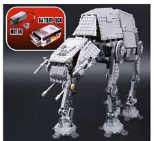 Motorised Motorized Walking AT-AT 05050 Building Blocks Leego Star Wars 10178