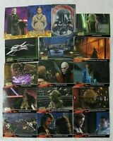 Topps Star Wars Revenge Of The Sith 16 Collector Cards With Vader # 9 Out Of 10