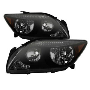 xTune for Scion tC 2005-2007 Style Headlights - Black Smoked HD-JH-STC05-AM-