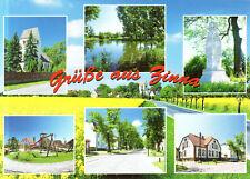 04860 Zinna  -  Kirche - Teich am Anger - Kriegerdenkmal - Gemeindeverwaltung