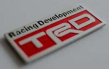 METAL TRD Racing Development Emblem Sticker Decal For Car Bumper Window