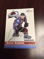 2001-02 Topps Heritage All-Star Game Colorado Avalanche #5 Milan Hejduk Card