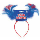 Patriotic Ponytail Bopper. Factory Card and Party Outlet. Free Shipping