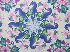 Treasures of Nature Undersea Swirl Circle Pink In The Beginning Fabric Yard