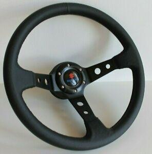 Steering Wheel Fits SUZUKI Deep Dish Leather SAMURAI Sidekick Santana 81-98