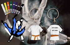 Personalised Judo - Karate - Ju Jitsu - Kickboxing double sided Orange Belt