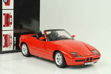 1988 BMW Z1 Roadster Rojo 1:18 Minichamps
