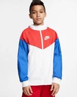 Nike Sportswear Windrunner Big Kids' (Boys') Jacket Loose Fit 850443-107 FREE SH