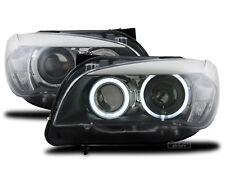 KIT FARI LENTICOLARI H7 BMW X1 (E84) DAL 2009 AL 2012 CON 2 ANELLI ANGEL EYES
