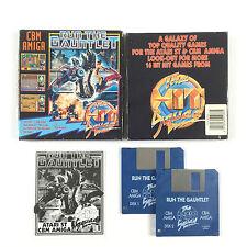 Jeu Run The Gauntlet Sur Commodore Amiga Big Box / Boite
