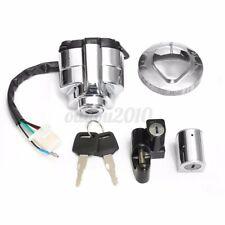 Ignition Switch Gas Cap Helmet Set For Honda VT250 Shadow VLX VT 400 600 750
