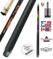 Champion Dragon Pool Cue Stick with Predator Uniloc Joint, Low Deflection Shaft