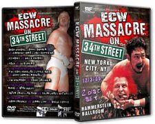 ECW Wrestling: Massacre on 34th Street DVD, Tajiri Steve Corino Mikey Whipwreck