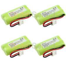4x Phone Battery 350mAh NiCd for VTech CS6114 CS6124 CS6328 CS6329 CS6400 CS6409