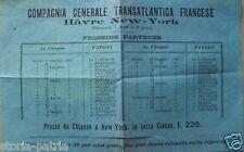 VIAGGI_ITALIA FRANCIA AMERICA_NAVIGAZIONE_EMIGRAZIONE_CHIASSO_NEW YORK_HAVRE_'07
