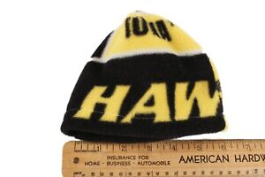 Polar Fleece Iowa Hawkeyes Handmade Beanie Hat Baby Size NB-12 Months