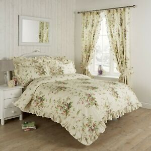 Vantona Country Madeline Duvet Cover Set, Bedspread & Curtains - Sold Separately