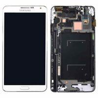 PANTALLA COMPLETA LCD DISPLAY + MARCO PARA SAMSUNG GALAXY NOTE 3 N9005 BLANCO