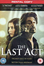 The Last Act DVD Al Pacino * NEW & SELAED * RENTAL EDITION - WHY PAY MORE ?