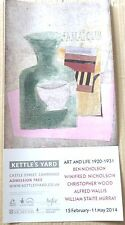 Alfred Wallis, Ben & Winifred Nicholson, Christopher Wood Art Exhibition Poster