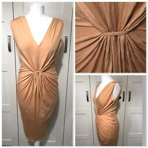 Bohoo Ruched Front Dress BNWT Beach Holiday Festival Soft Flattering