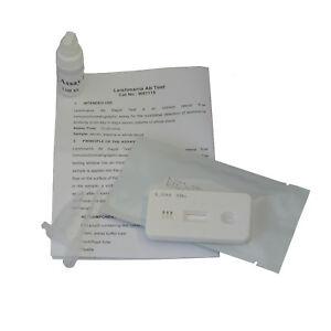Dog Canine Leishmaniasis LSH Leishmania Blood Pet Vet Diagnosis Test Kits