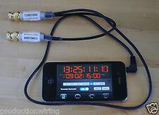 Ipad del código de tiempo digislate Badajo Board Sync Lockit BNC Lemo Película Pizarra de Denecke