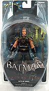 Batman Arkham City Series 3 Ra's al Ghul 7in Action Figure DC Direct Toys knight