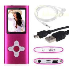 "8GB 16GB 32GB MP3 MP4 Player Music Digital 1.8"" LCD Screen FM Video Games &Movie"