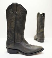 $298 FRYE Billy Pull On Distressed Leather Cowboy Western Boots 77689 Sz 7
